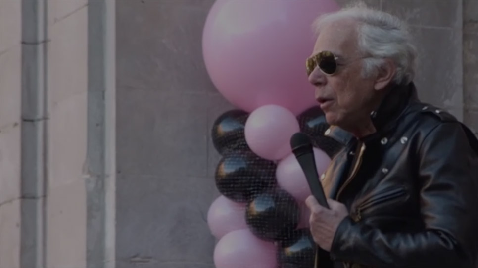 Video of Mr. Lauren speaking about the Pink Pony Campaign