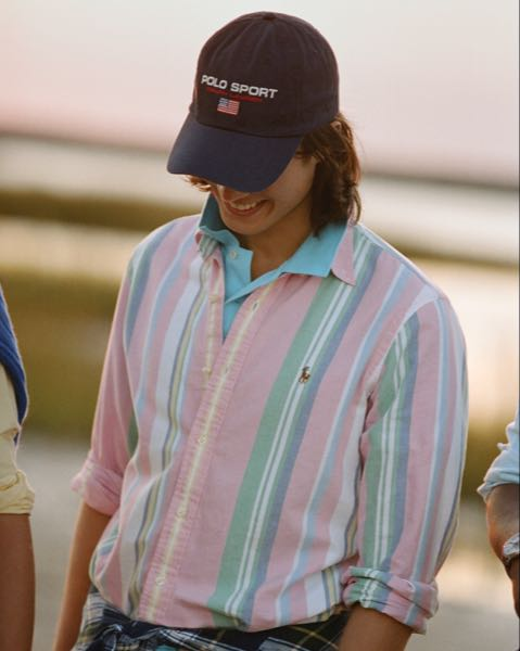 Custom Fit Striped Oxford Shirt
