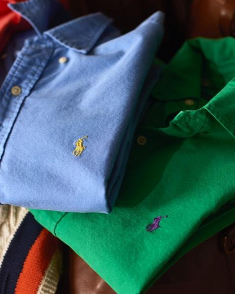 Slim Fit Garment-Dyed Oxford Shirt